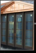 Custom Coper Entrance facade by Raven Metal Products
